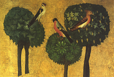 What nature says - Christ on the Mount of Olives (Detail)